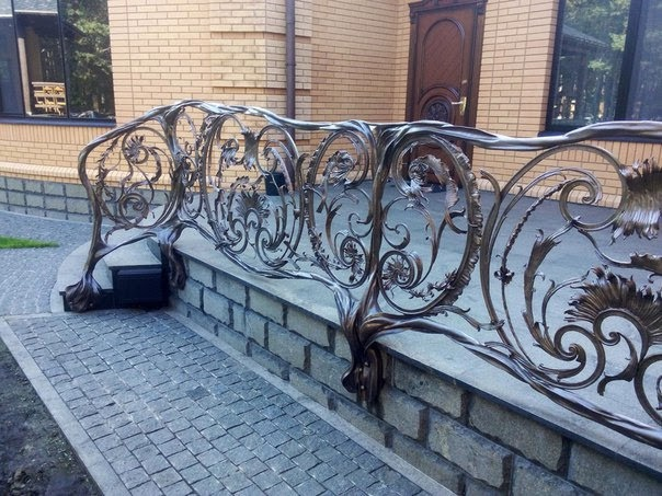 Кованый балкон КБ-9