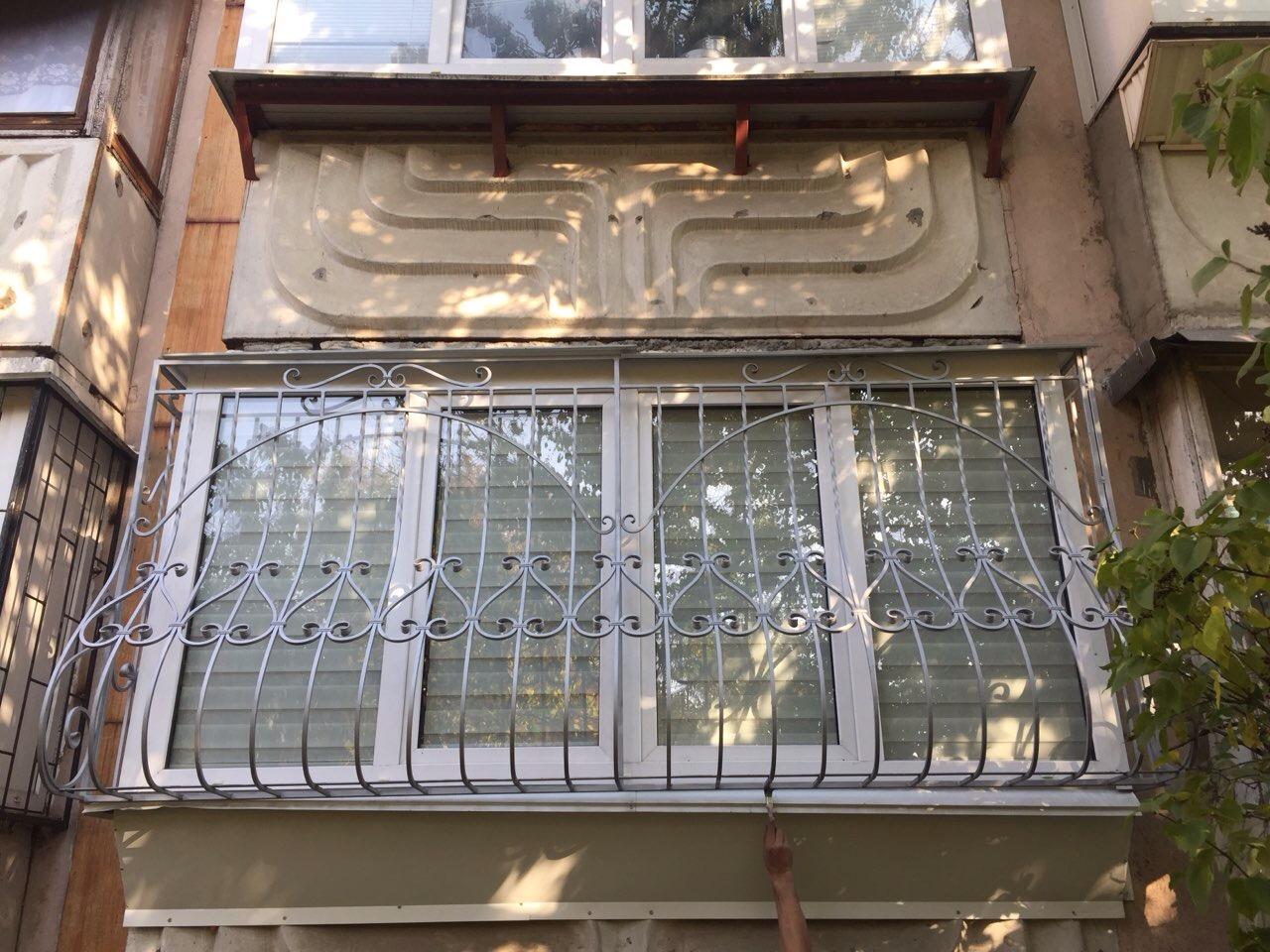 Кованая решетка КР-13, фото, Киев