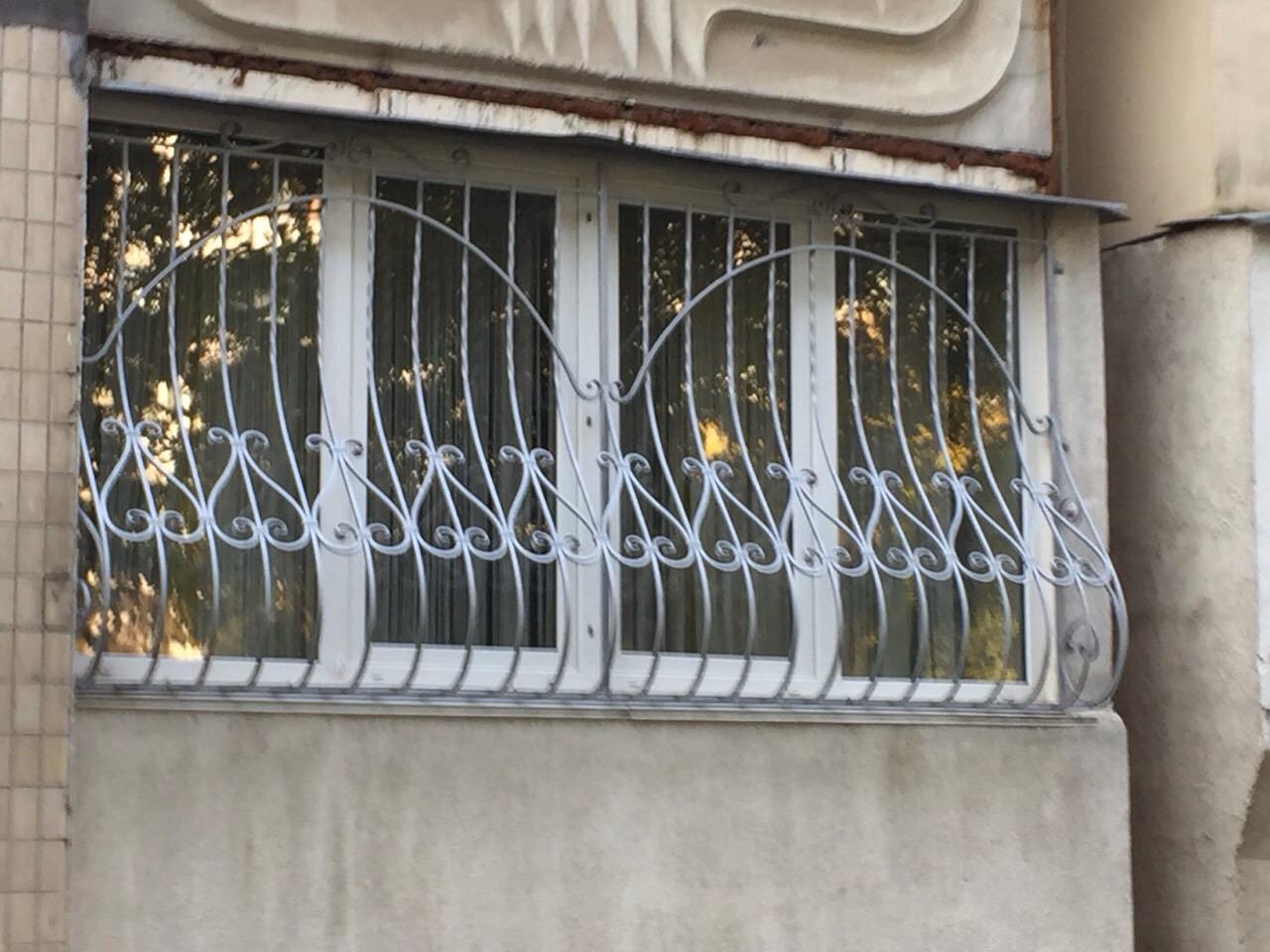 Кованая решетка КР-13, Киев