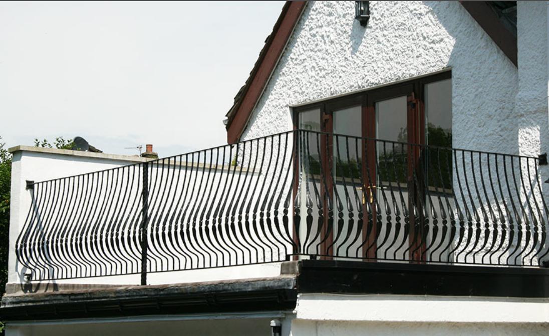 Кованый балкон, арт. 40001