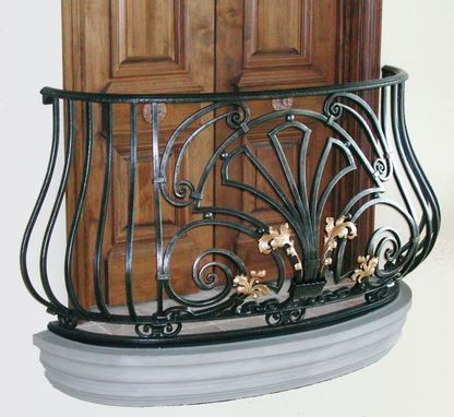 Кованый балкон, арт. 40007