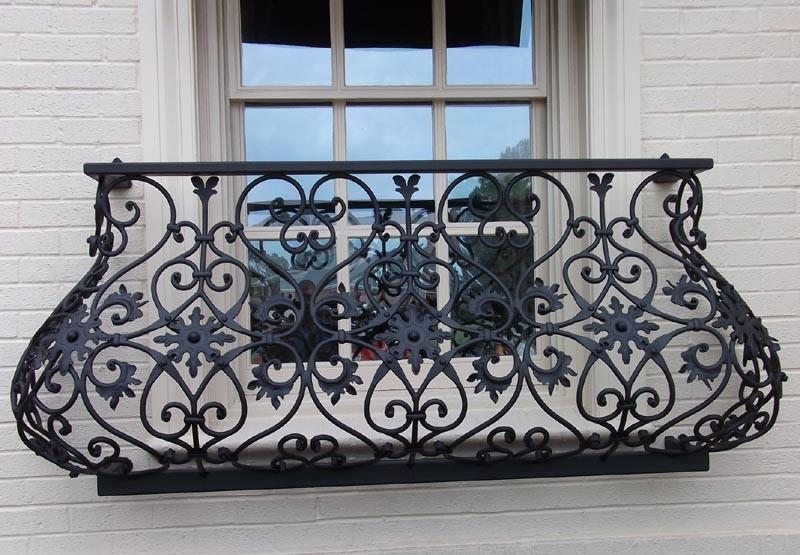 Кованый балкон, арт. 40002
