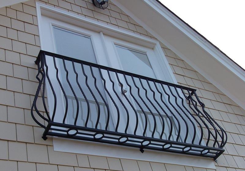 Кованый балкон КБ-6