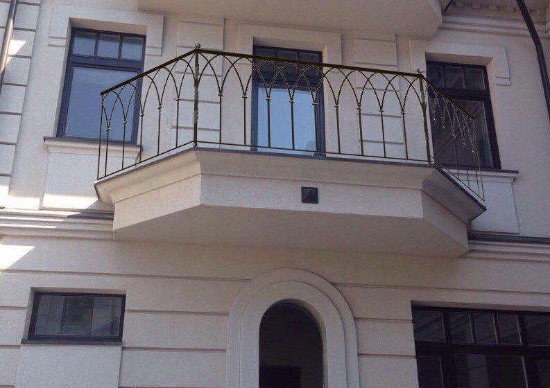 балкон ковка