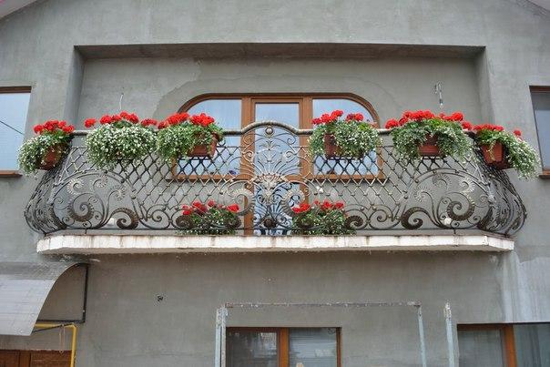 Кованый балкон, арт. 40010