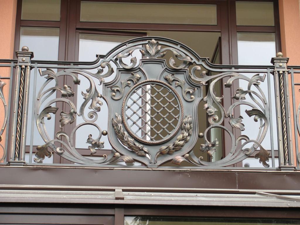 Кованое ограждение балкона, арт. 40011