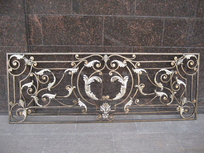 Кованое ограждение террасы, арт. 40012
