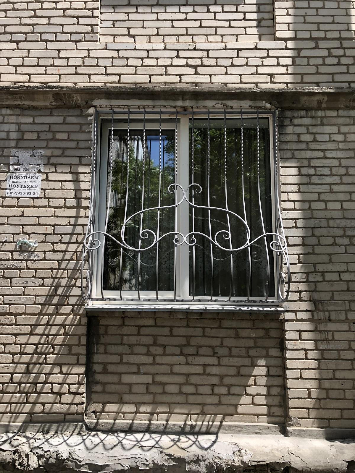 защитные оконные решетки
