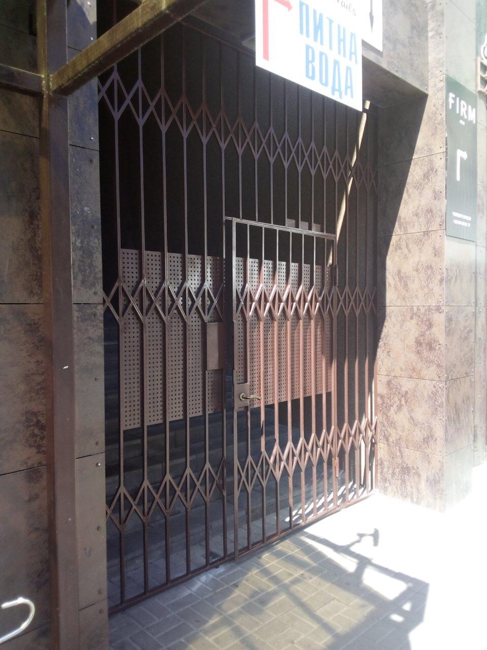 металлическая калитка на заказ