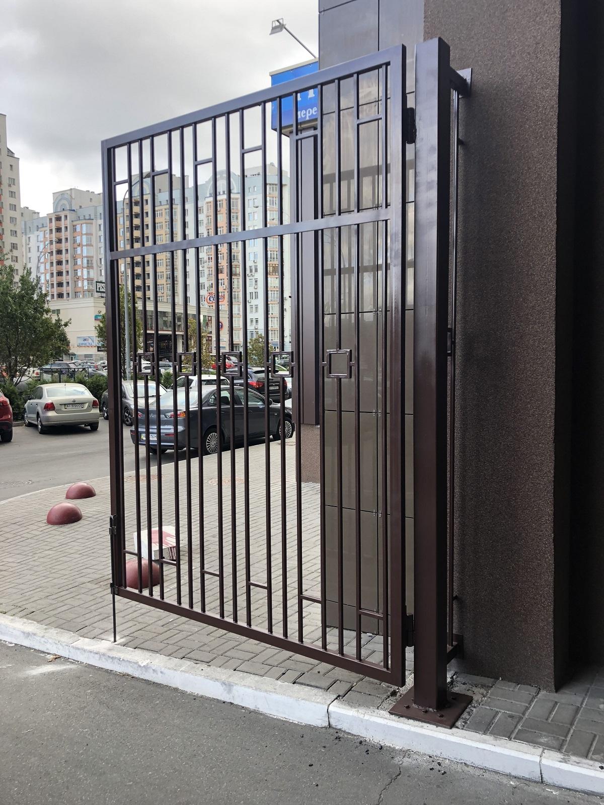 металлические ворота заказать