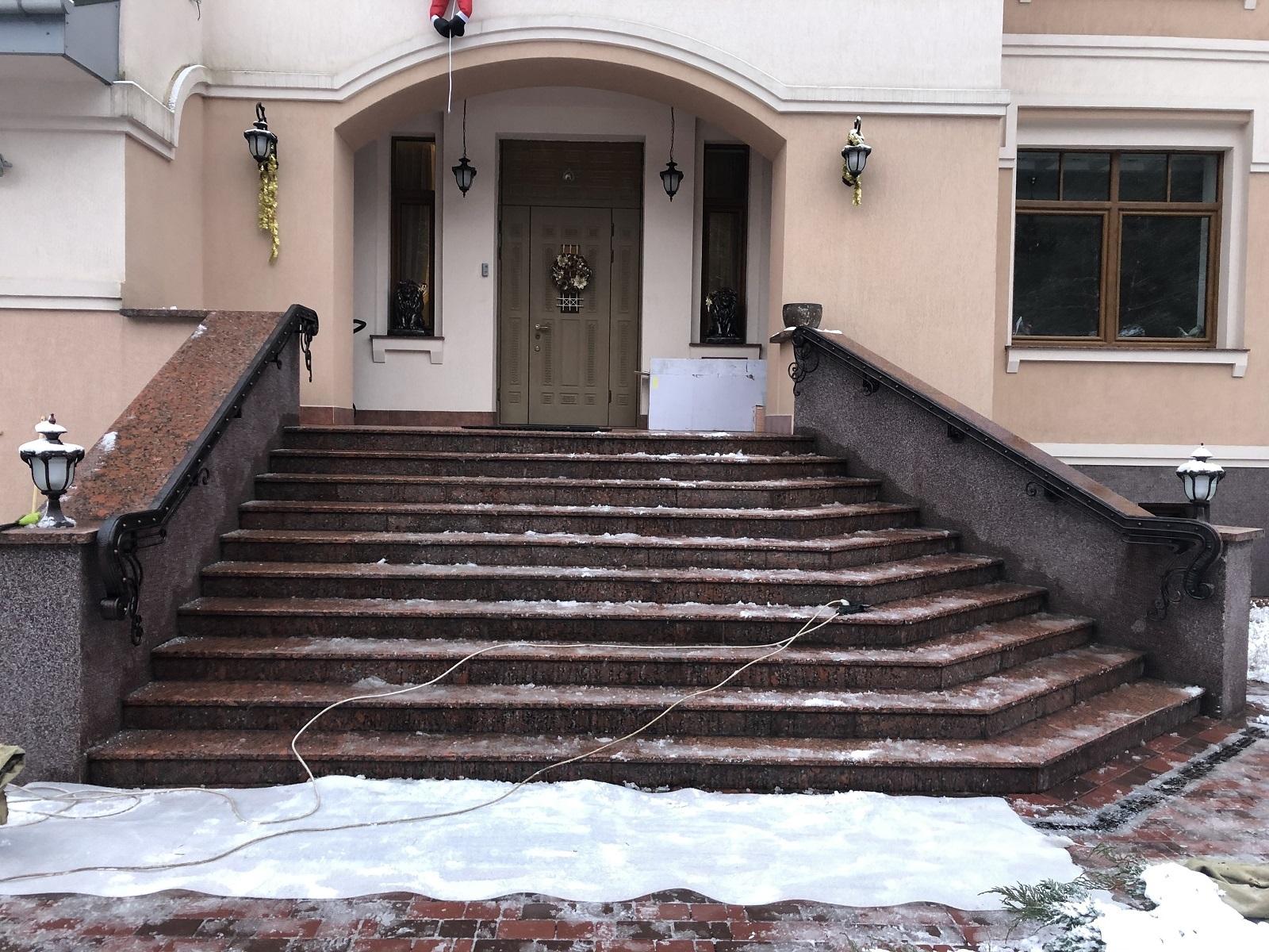 поручень для лестницы размеры
