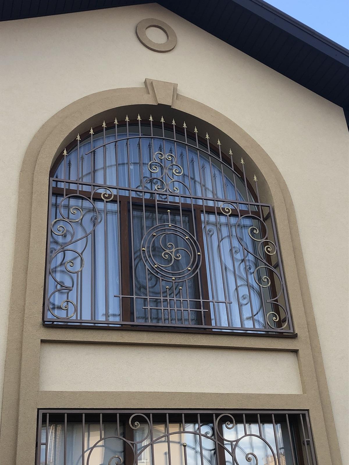 решетки на окна на витражное окна