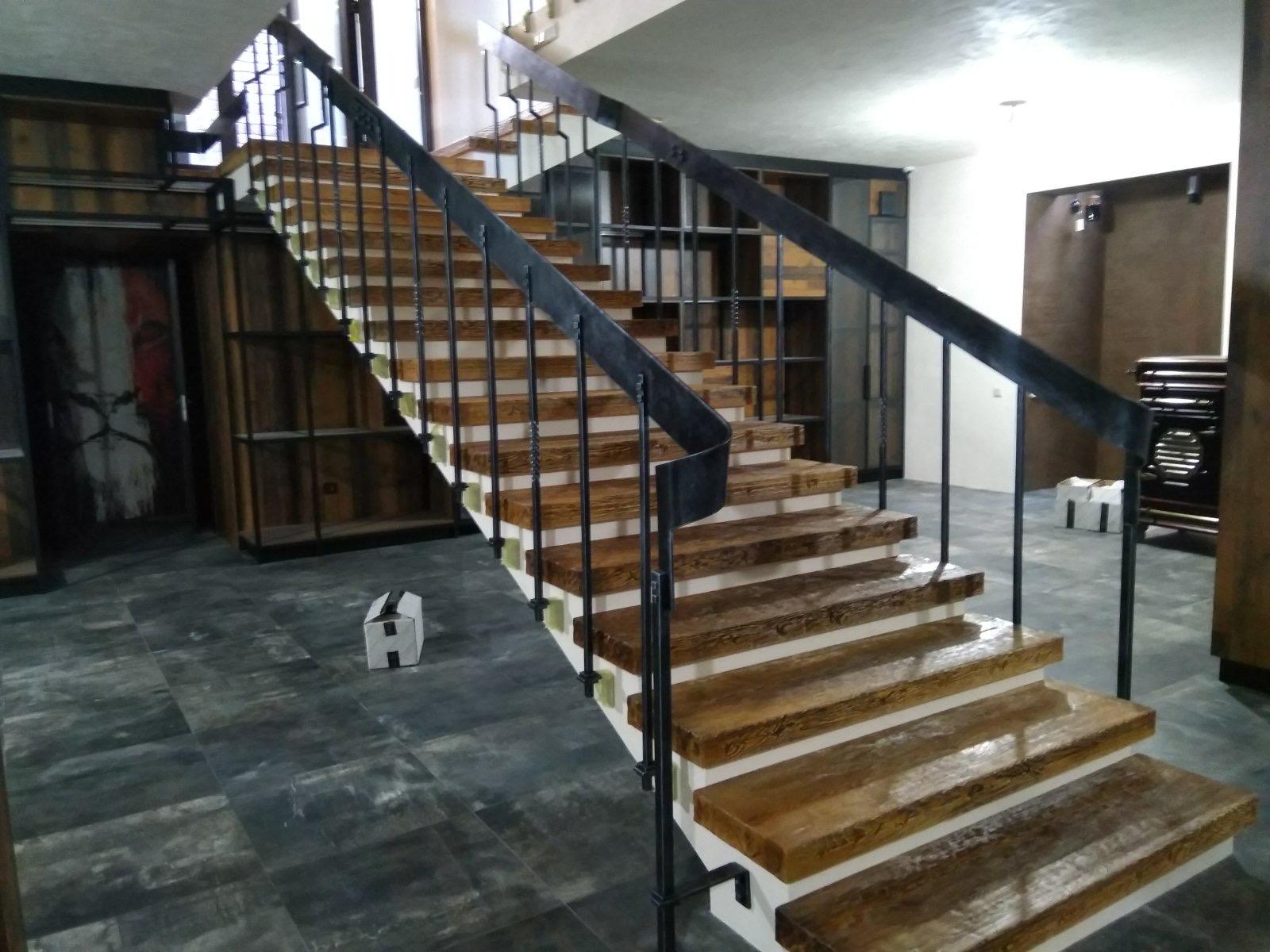 кованая лестница цена буча