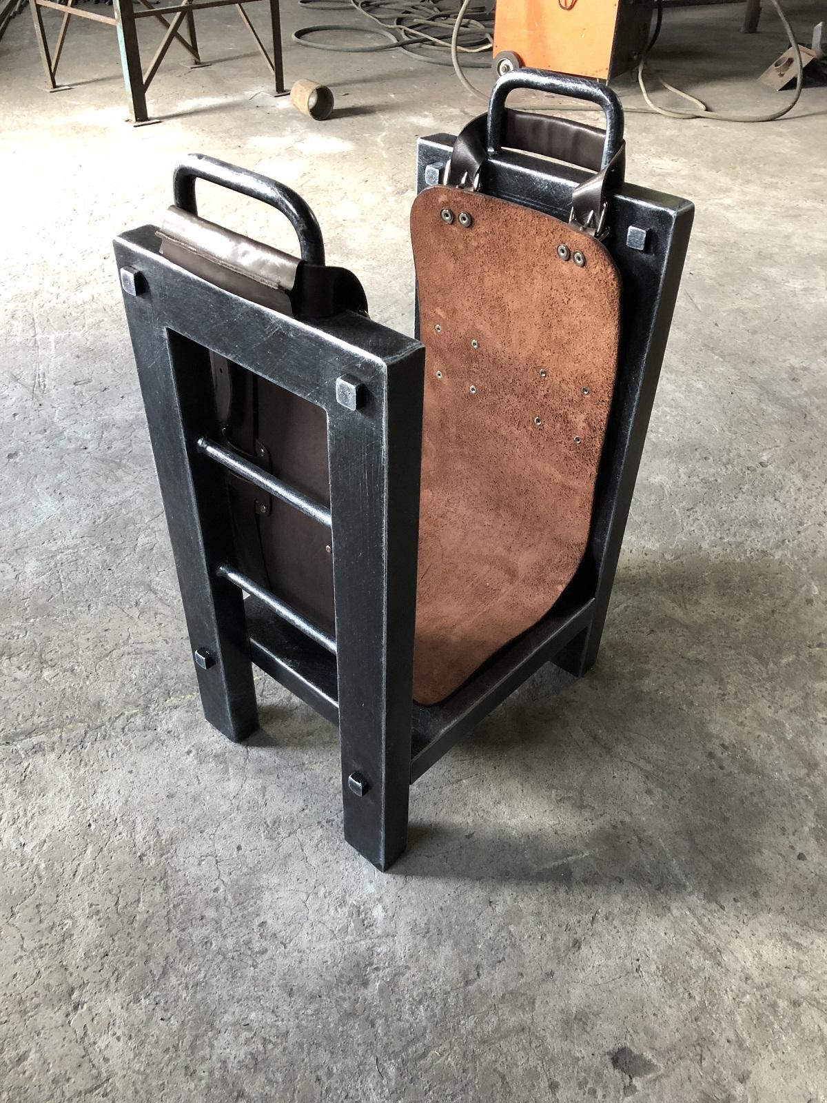 металлическая дровница