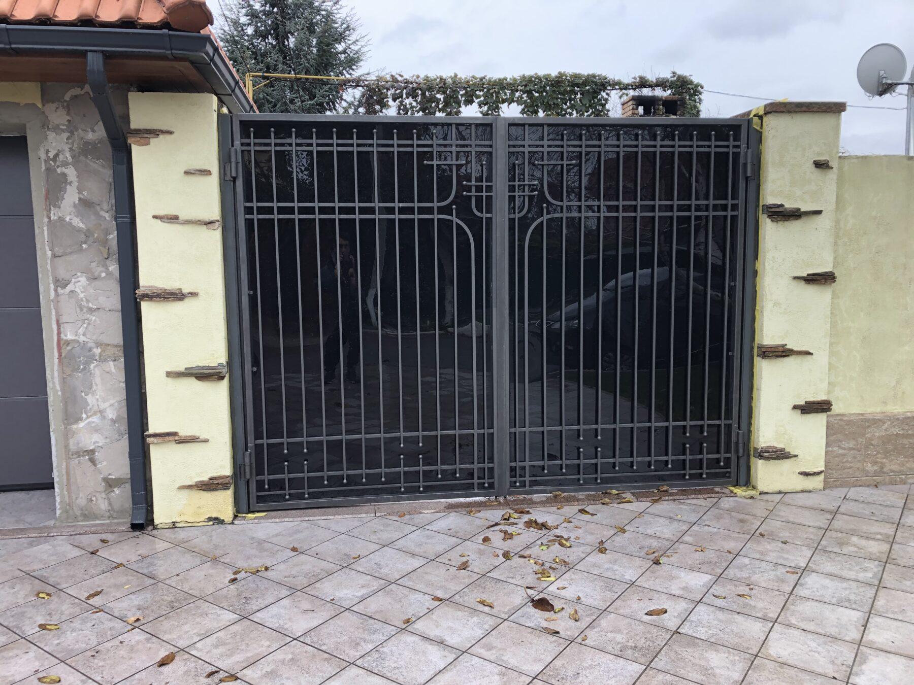 Кованые ворота, 1 м.кв., арт. 20012