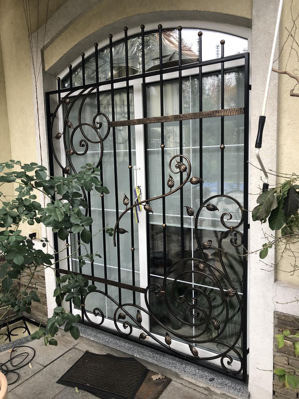 арочные решетки на окна