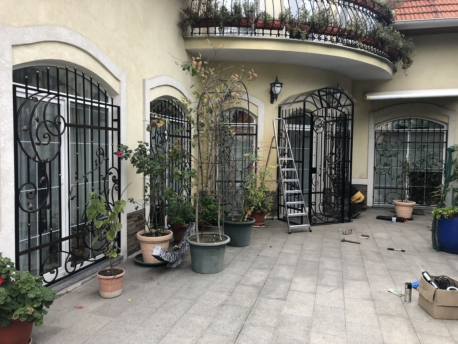 Кованые решетки на окна, арт. 30026