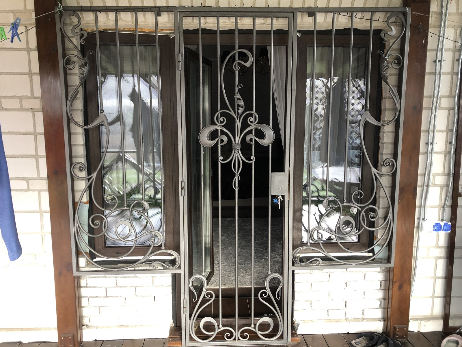дверная решетка заказать