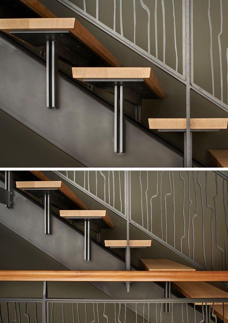 ступени на металлическую лестницу